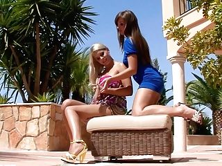 Rikki And Cate In A Nice Lesbo Scene By Sapphic Erotica