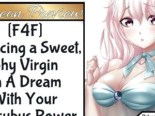 F4f Seducing A Sweet, Timid Cherry In A Desire With Your Succubus Powers