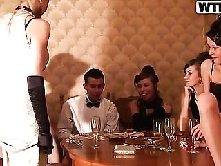 Carolina And Emmy Are Having Some Damsel Soiree And Getting Ultra-kinky And Horny