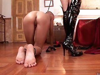 Bald Headed Hooker Does Everything Czech Mistress Lucy Belle Desires