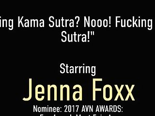 'sweet Lezzies Demi Sutra And Jenna Foxx Bathe Those Tongues In Cooter Juice'