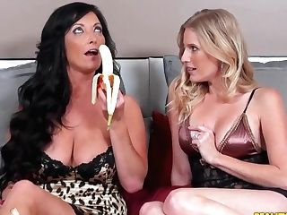 Chicks Talk About Lesbos And How They Want To Fuck