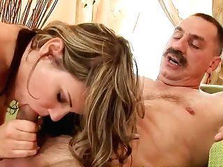 The Remarkable Damsel Rosee Deep-throats The Old Smelly Grand-pa's Penis