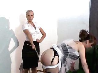 Bad Maids Spanked