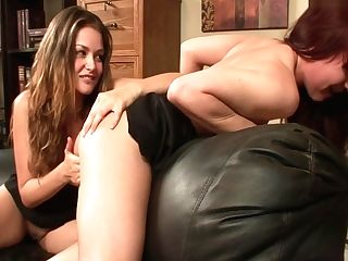 All Girl Office Seductions Four 01