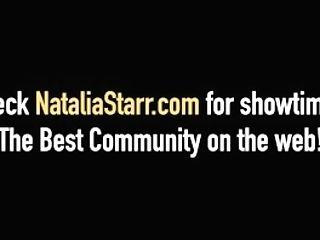 Blonde Honey Natalia Starr Fake Penis Fucks With Jillian Janson!
