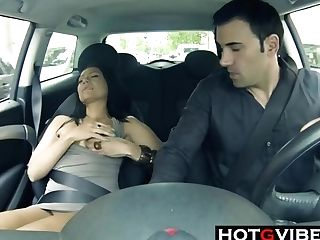 Squirting In The Car Before Hooking Up Hd