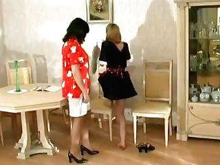 Matures Lezzie And Maid