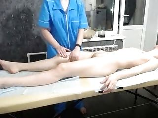 Russian Nubile Gets Massaged & Tormented With Electro-hitachi