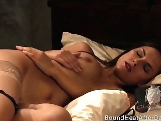 The Wish Of Capture: Erotic Lezzy Masturbates Till Orgasm